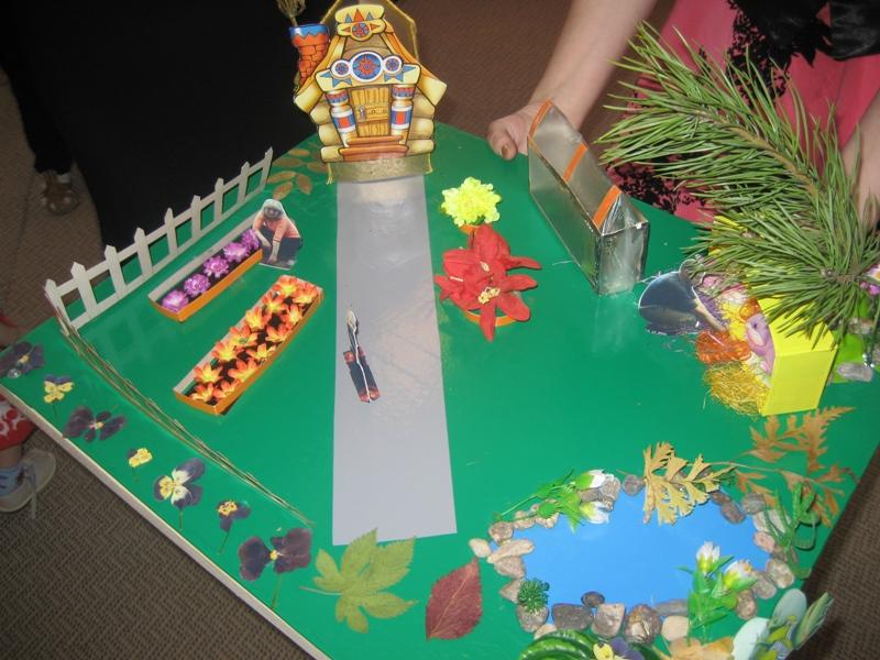 Макет в детский сад своими руками 82